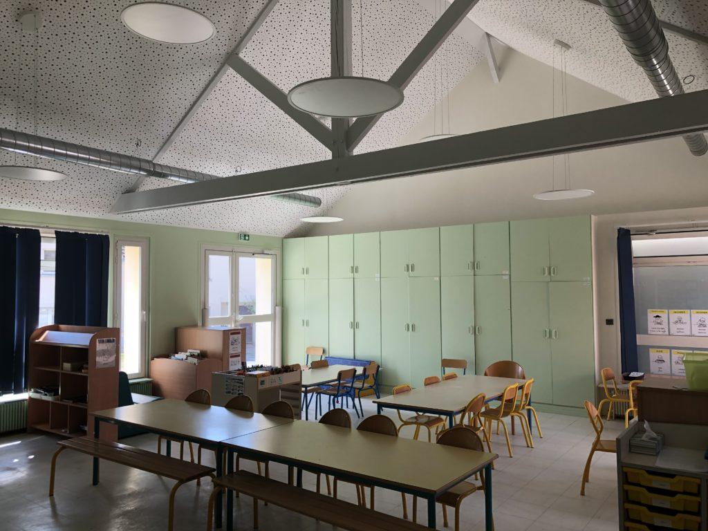 Ecole de Livry sur Seine - Salle de classe Grande Section réaménagée
