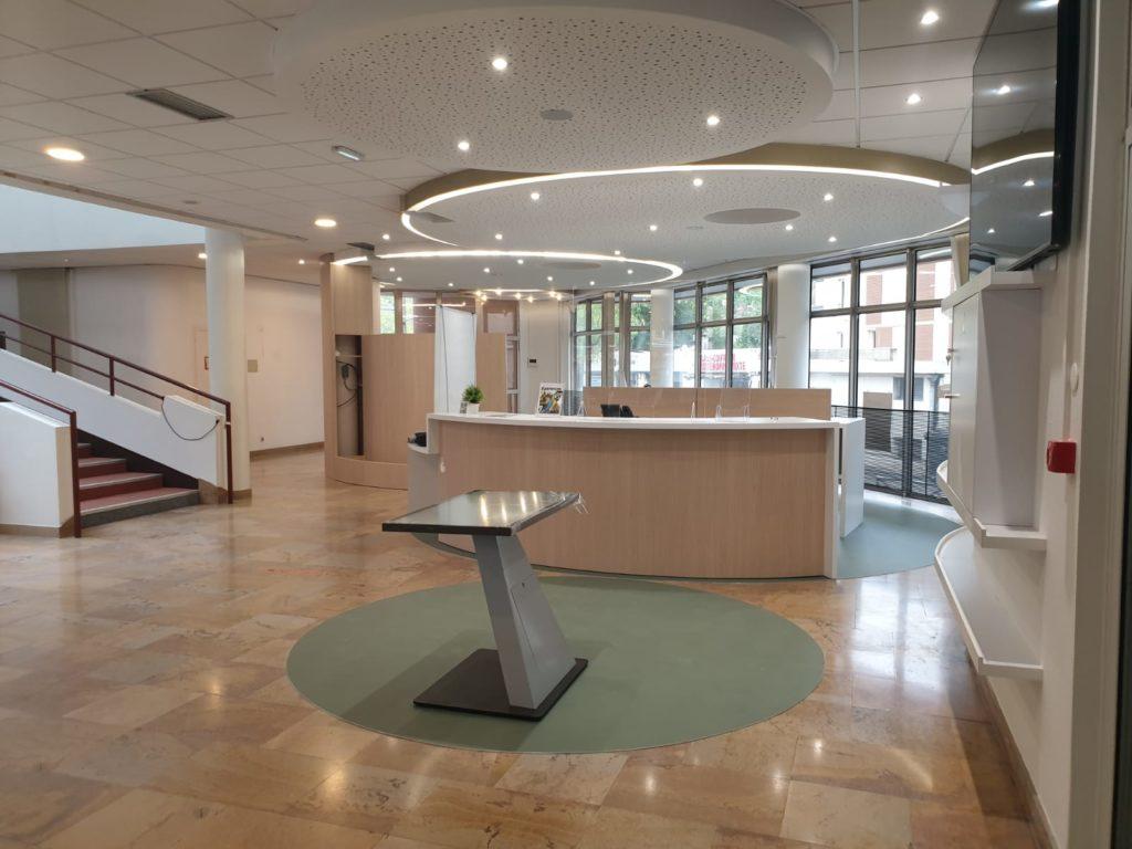 Nouvel espace d'accueil de l'Office du Tourisme