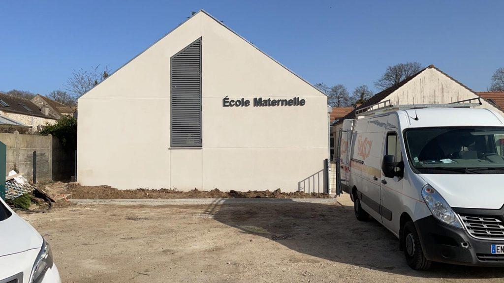 Extension de l'école maternelle de Livry sur Seine