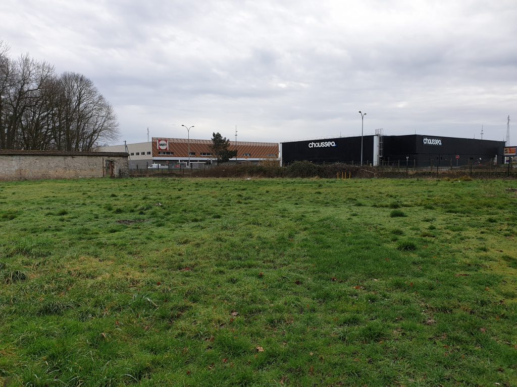 Site de la future Aire de Grands Passages au Bréau