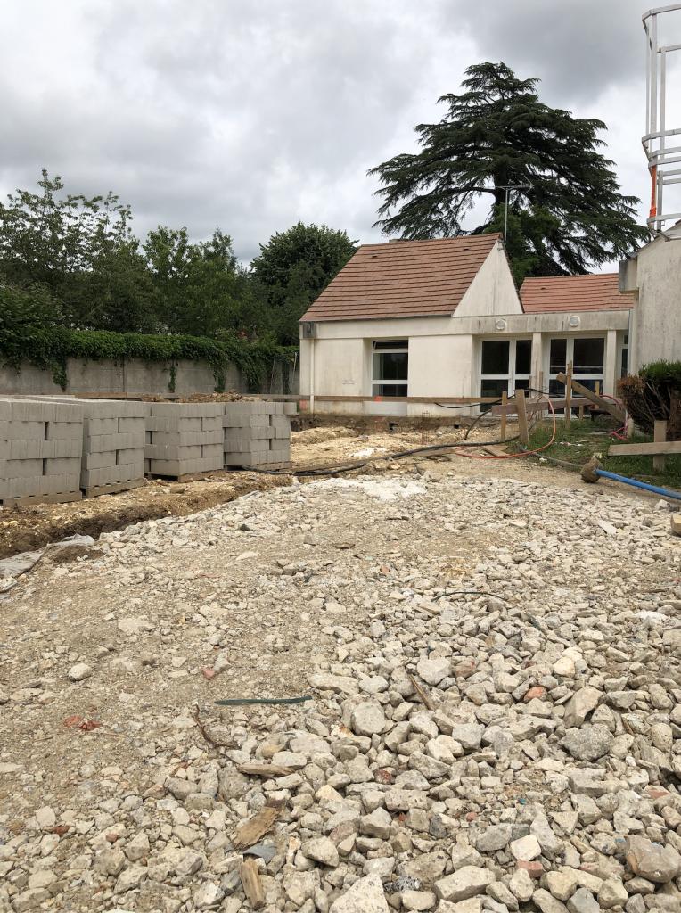 Extension école maternelle Livry sur Seine
