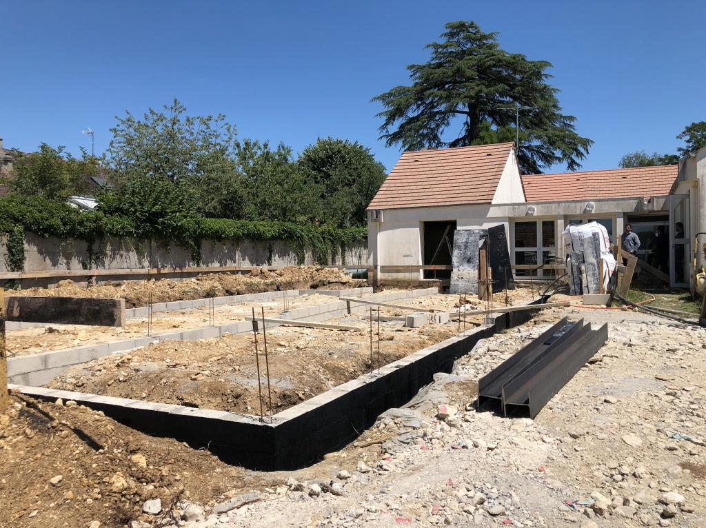 Extension école de Livry sur Seine